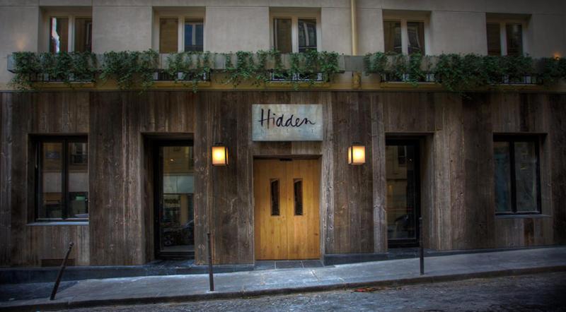 Klein boutique hotel in parijs vlakbij de arc de triomphe for Kleine boutique hotels