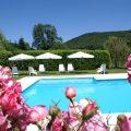 heerlijke zwembad van Pyrenees Passions